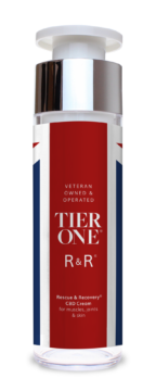 CBD Cream for Joints, Muscles & Skin from Tier One