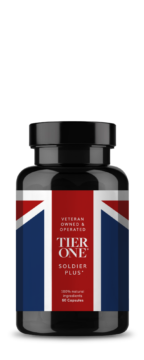 Tier One Bottle of Health Supplements